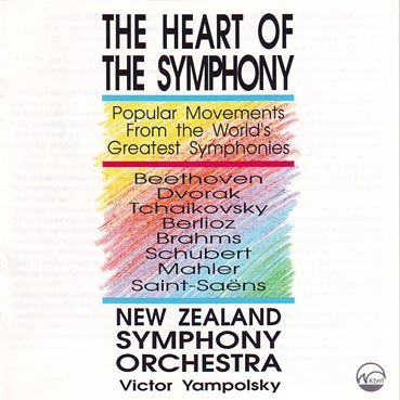 NEW ZEALAND SYMPHONY ORCHESTRA - The Heart Of The Symphony